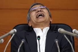 Kuroda laughing